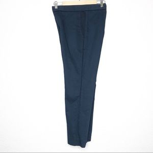 Marni Navi Pants Side Stripe Straight Leg Trousers